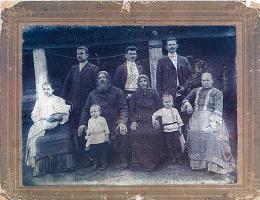 Семья Головиных С.Левокумское 1911 г.