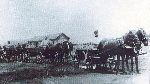 Гужевой транспорт. Довоенный период
